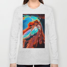 Levkí (Abstract 47) Long Sleeve T-shirt