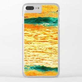 He'e Nalu Ma Le'ahi Clear iPhone Case