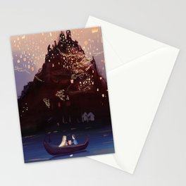 I see the lights  Stationery Cards