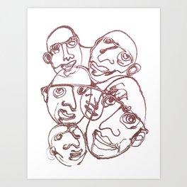 SPARKLE / 014 Art Print