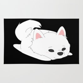 Samoyed Loaf Rug