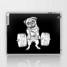 Pug Lift in Black Laptop & iPad Skin