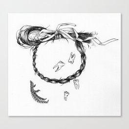 Tokens Canvas Print