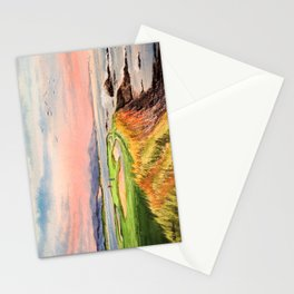 Pebble Beach Golf Course Hole 7 Stationery Cards