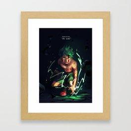 Midoriya Framed Art Print