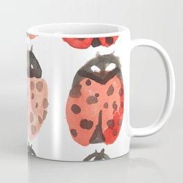 ladybug pattern Coffee Mug
