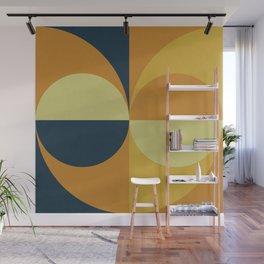 Geometry Games Wall Mural