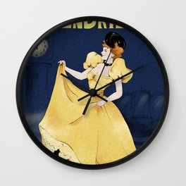Cendrillon Wall Clock