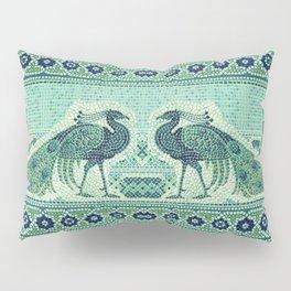 Peacocks Mosaic Pillow Sham