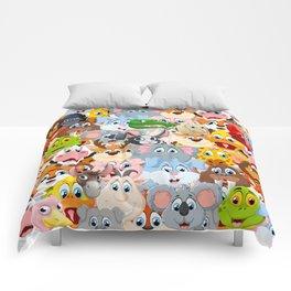 animals zoo Comforters