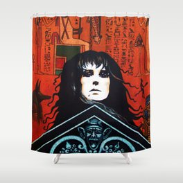 Laurie Cabot Egyptian Mystic Shower Curtain
