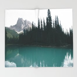 Emerald Lake Throw Blanket