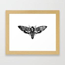 deathmoth Framed Art Print