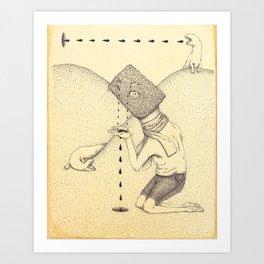 Derivative Art Print