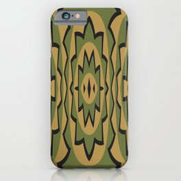 Ethnic geometric pattern iPhone Case