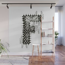 Color Me F Wall Mural