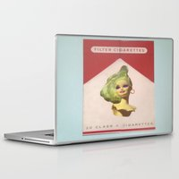 barbie Laptop & iPad Skins featuring Cigarette Barbie by Hayleydonovan