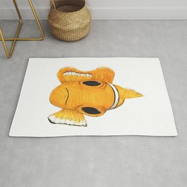 Not funny Clownfish Rug