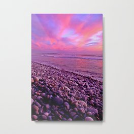 Pink Sunset Metal Print