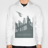 final fantasy Hoodies featuring Final Fantasy VII by [SilenceCorp.]