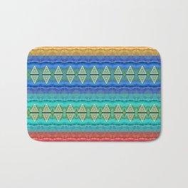 Illuminated Neo Tribal Micro pattern (HDR) Bath Mat