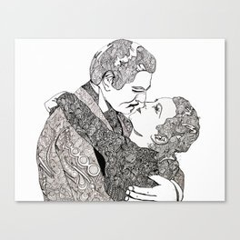 Gone With The Wind Elaboration Canvas Print