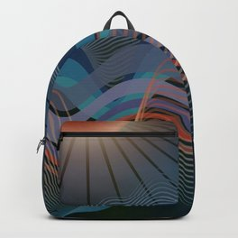 In The Still Of The Night Ocean Backpack