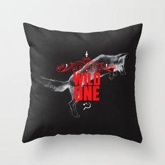Wild One Throw Pillow