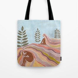 Ancestral lands Tote Bag