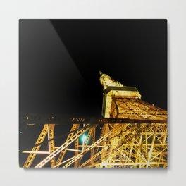 Nightly Tokyo Tower Metal Print