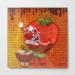 Cedurburg Stawberry Metal Print