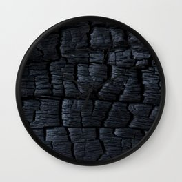 Charred Wall Clock