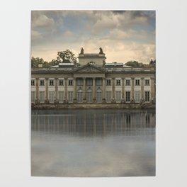Royal Palace in Warsaw Baths Poster