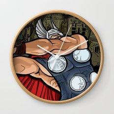 The Mighty Thor, God of Thunder Wall Clock