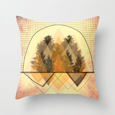 try tree-angles Throw Pillow