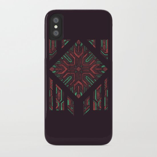 Compartmentalized iPhone Case