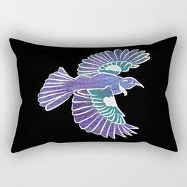 Tui New Zealand Bird Rectangular Pillow