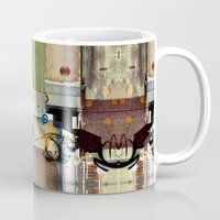 picasso Mugs featuring Everyday Picasso by Robin Curtiss