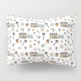 Flower Shop Pillow Sham