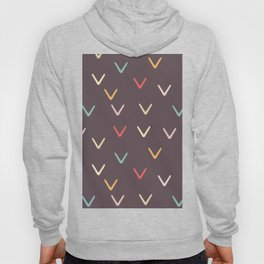 Take Flight - Abstract Arrows Dark Background Hoody