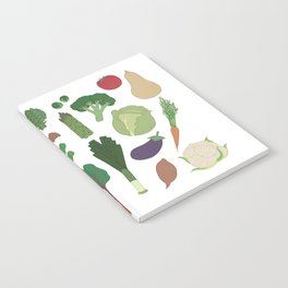 Make Friends With Vegetables Notebook
