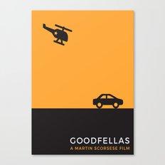 Goodfellas Minimalist poster Canvas Print