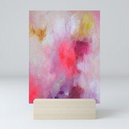 Blush Song #1 Original Painting by Rachael Rice Mini Art Print