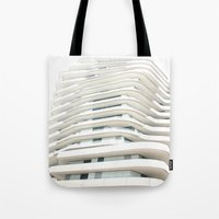 architecture Tote Bags featuring Architecture by Fine2art