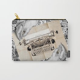 Drawing Hands and Writing Hands Carry-All Pouch