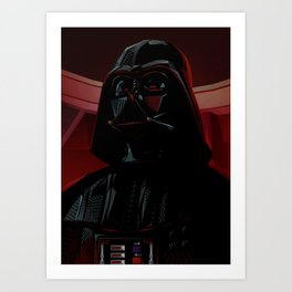 """DARTH VADER"" Dark Lord of the Sith Art Print"