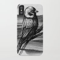sparrow iPhone & iPod Cases featuring Sparrow by Peter Chuchuligov
