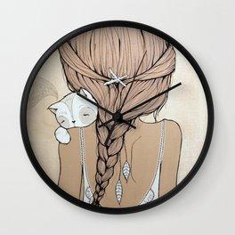 Stay Close Wall Clock