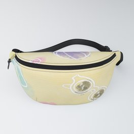 Summer in watercolors Fanny Pack