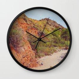 Desert Trail Wall Clock